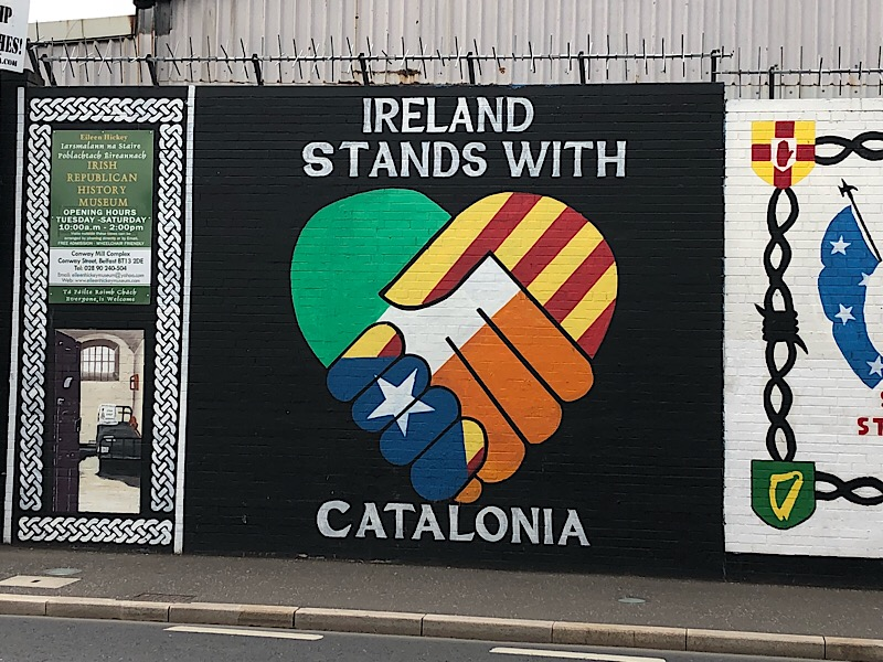 IRELAND STANDS WITH CATALONIA
