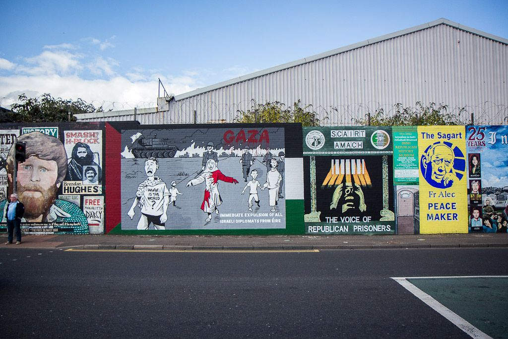 Northern Ireland Political Murals